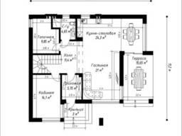 """Продам новый дом 2 этажа на Червоном Хуторе (ЖМ Дайберг"""")"""