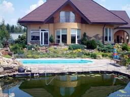 Дом с бассейном в Новоалександровке