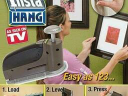 Домашній степлер Інстахенг - дирокол Insta Hang
