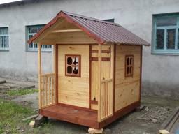 Домик деревянный детский