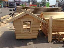 Домик деревянный для детей