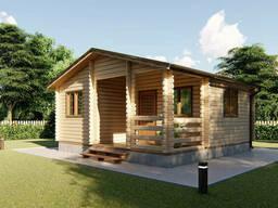 Домик деревянный садовый для дачи из профилированного. ..