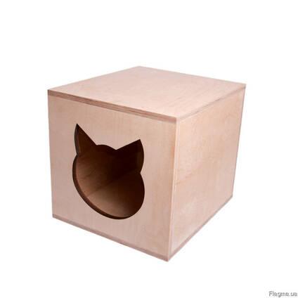 Домик для кошки из фанеры продам, Харьков, доставка