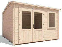 Домик садовый из профилированного бруса 3. 5х3. 5 м