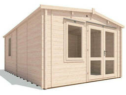 Домик садовый из профилированного бруса 4х6 м