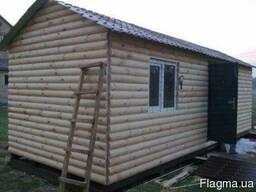 Домики дачные, садовые деревянные