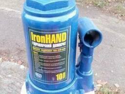 Домкрат 10т 460мм Iron Hand