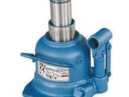 Домкрат бутылочный профессиональный низкопрофильный двухштоковый 10т 125-225 мм TORIN T
