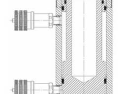 Домкрат (цилиндр) силовой с гидравлическим возвратом штока
