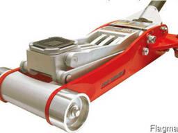 Домкрат гидравлический подкатной алюминиевый (облегчённый). - фото 2