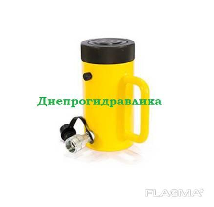 Домкрат гидравлический с гайкой ДГГ200П150
