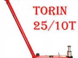 Домкрат подкатной пневмогидравлический 25/10 т Torin TRA25-2
