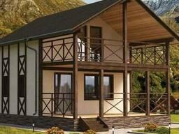 Домокомплекты для самостоятельной постройки дома / СИП-панел
