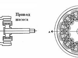 Донная мешалка с магнитным приводом с магнитной муфтой