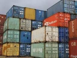 Дорого контейнер морской б/у 20 и 40 футов по всей Украине