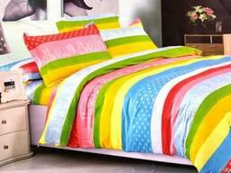 Дорогое постельное белье из сатина, Комплект Радость цвета