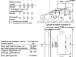 Дорожная уборочная щетка профессиональная Profi 200 HS 600 - фото 2