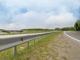Дорожное барьерное ограждение без покрытия 4,0 мм 11ДО-2. ..