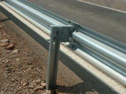 Дорожное барьерное ограждение без покрытия 4,0 мм 11ДО-4. ..