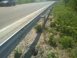 Дорожное ограждение оцынкованное толщина 3 мм
