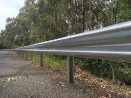 Дорожное ограждение оцинкованное 3 мм односторонее