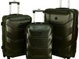 Дорожный Чемодан сумка Carbon 720 набор 3 штуки графит