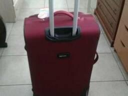 Дорожный чемодан - валіза WINGS 1706/1710 сумка на колесах - фото 2