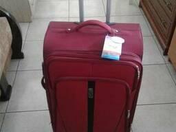 Дорожный чемодан - валіза WINGS 1706/1710 сумка на колесах - фото 3