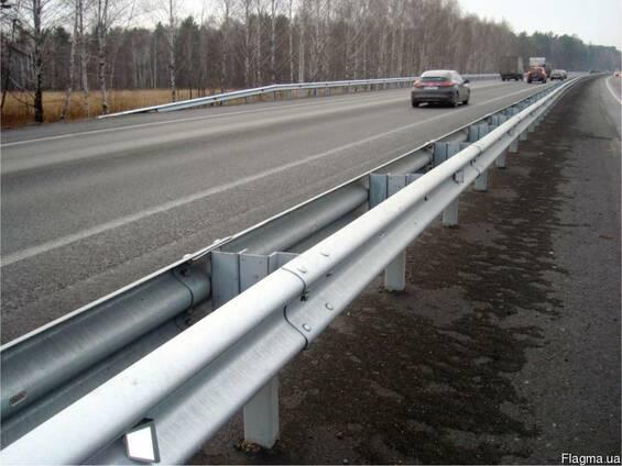 Барьерное дорожное ограждение 11ДО-2