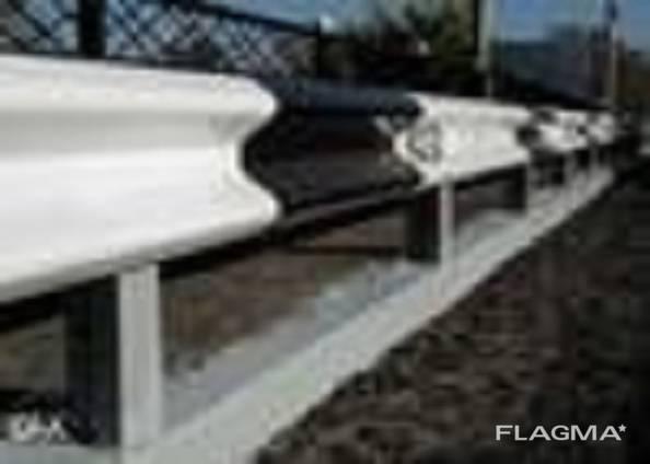 Ограждения дорожные металлические барьерного типа 11ДО