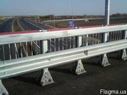Дорожные ограждения металлические барьерного типа 11мо