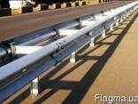 Дорожные ограждения металлические барьерного типа 11ДО, 11ДД - фото 1