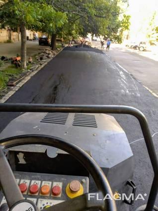 Дорожные работы в Одессе