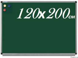 Доска для мела магнитная 120х200см для ВУЗов школьная