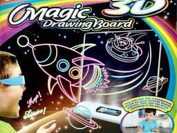 Доска для рисования с 3D-эффектом игровой набор Toy Magic. ..