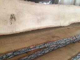 Доска дуба не обрезная сухая 30мм 3м 2-3сорт 10м3 в наличии