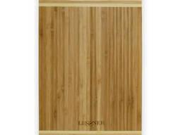 Доска кухонная бамбуковая 38х25 см Lessner 10301-38