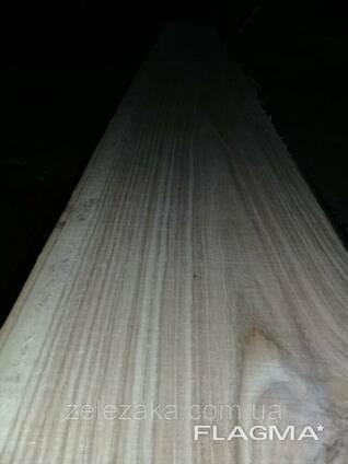 Доска необрезная дуб Канадский свежепильная, 32-52мм. ..