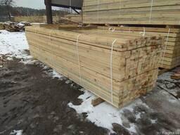 Pine timber sawn