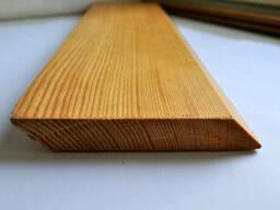 Доска планкен из Лиственница для обшивки фасада 20х140