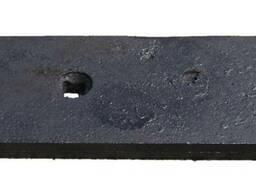 Доска полевая узкая плуга ПЛН борированная от производителя - фото 2