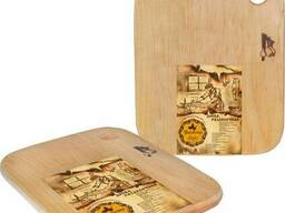Доска разделочная деревянная S&T 20 x 25 x 1 см