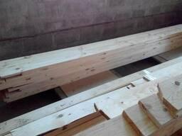 Доска строганная 25х120 мм не дорого Сосна со склада