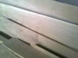Доска сухая ДУБ обрезная и не обрезная, около двух кубов в н