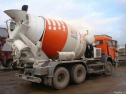 Доставка бетона и раствора на специальных машинах