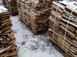 Доставка дров на поддонах, краном манипулятором - фото 3