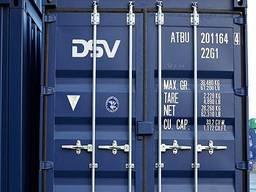 Доставка груза в контейнерах морем