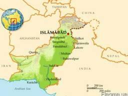 Доставка грузов из Пакистана морем и авиа