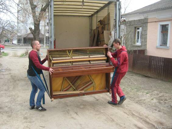 Доставка (холодильники 2,20м, пианино. Мебель). Грузчики.