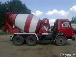 Доставка миксерами бетона, цементного раствора по Харькову